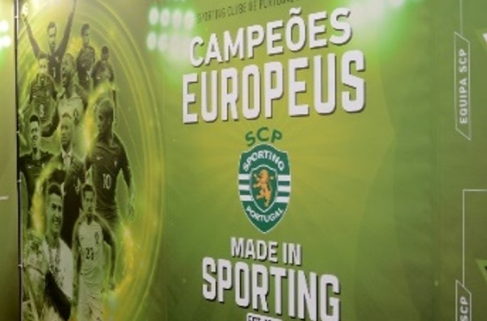 Campeões Europeus Made in Sporting
